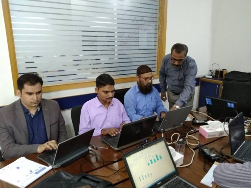 MS Project with Getron Karachi