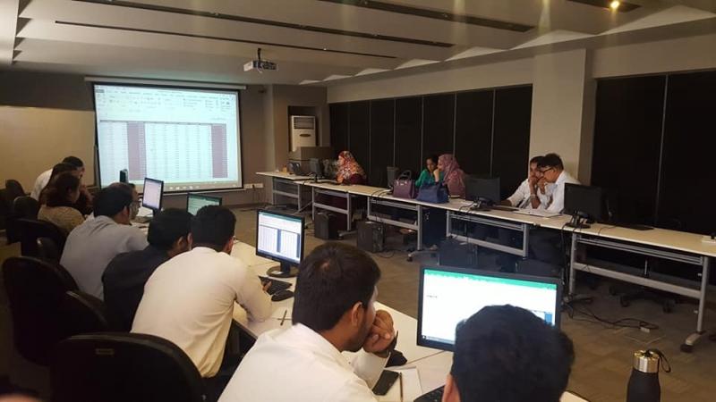 Excel Intermediate to Advanced with Habib Metro Bank Karachi
