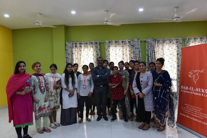 MS Word with Dar ul Sukun Staff