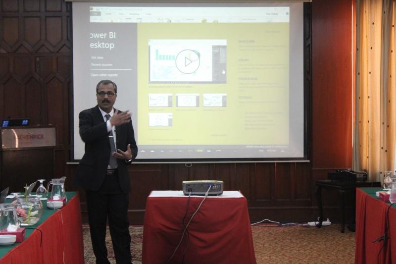 Power BI including DAX at Movenpick Hotel Karachi