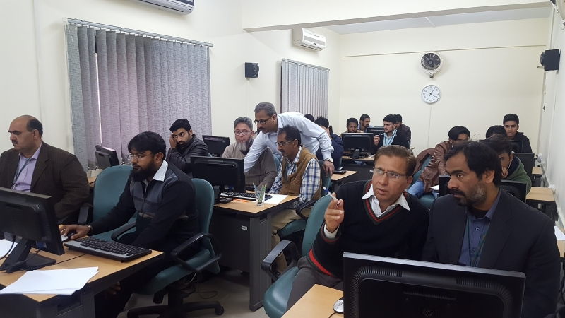 Excel Dashboard at PARCO Multan