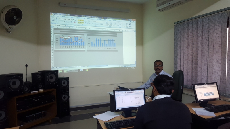Excel Training at PARCO