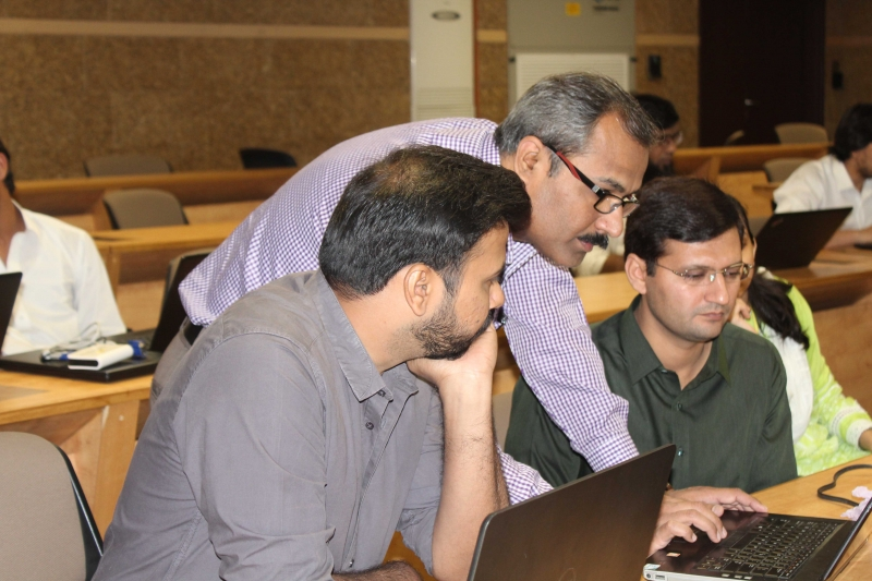 Power BI at Habib University Karachi