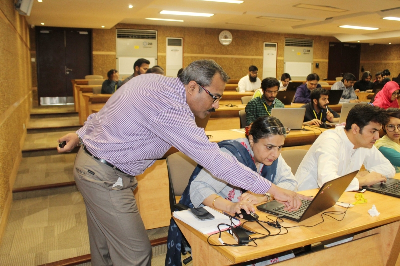 Power BI Project Training at Habib University