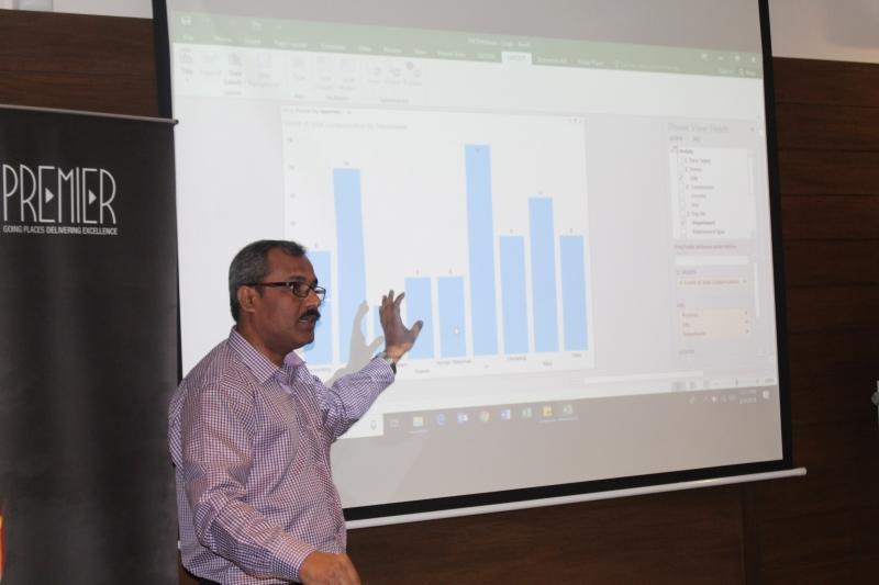 Advanced Excel at Premier Group Pakistan
