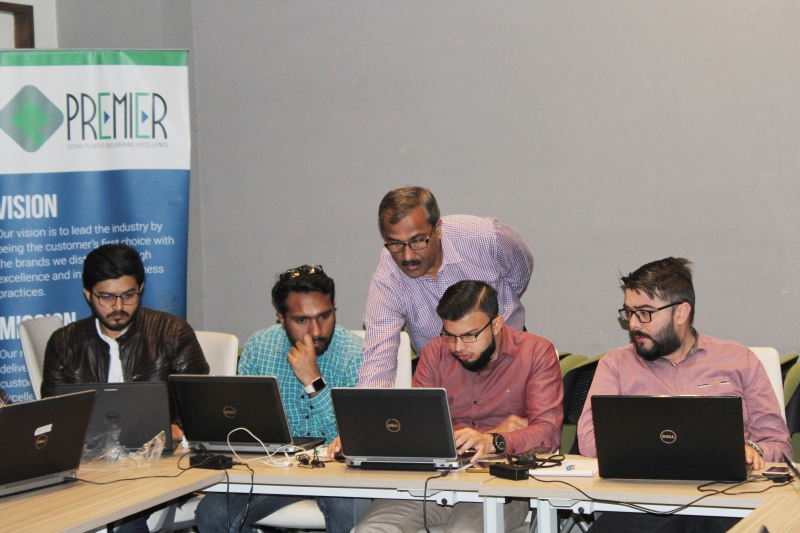 Excel Training at Premier Group