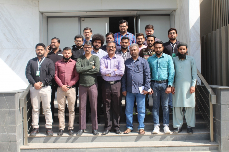 Group Photo of Excel Training at Premier Group