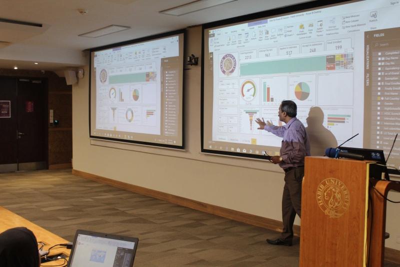 Power BI Training at Habib University Pakistan