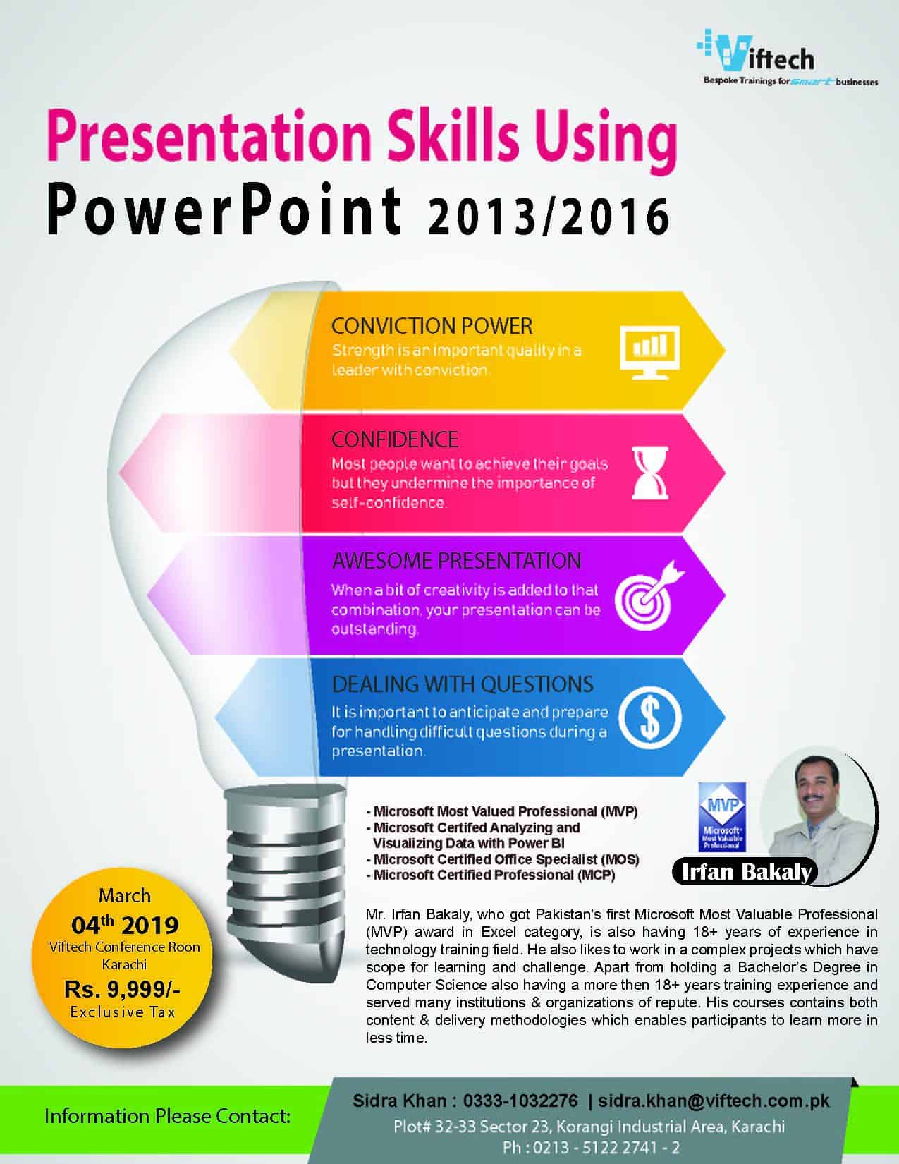 Presentation Skills Using PowerPoint