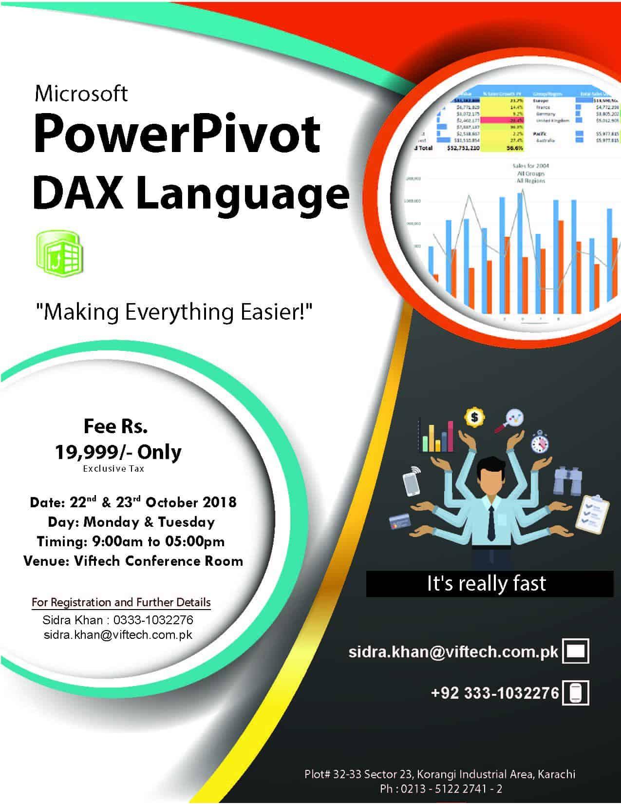 DAX Language Training