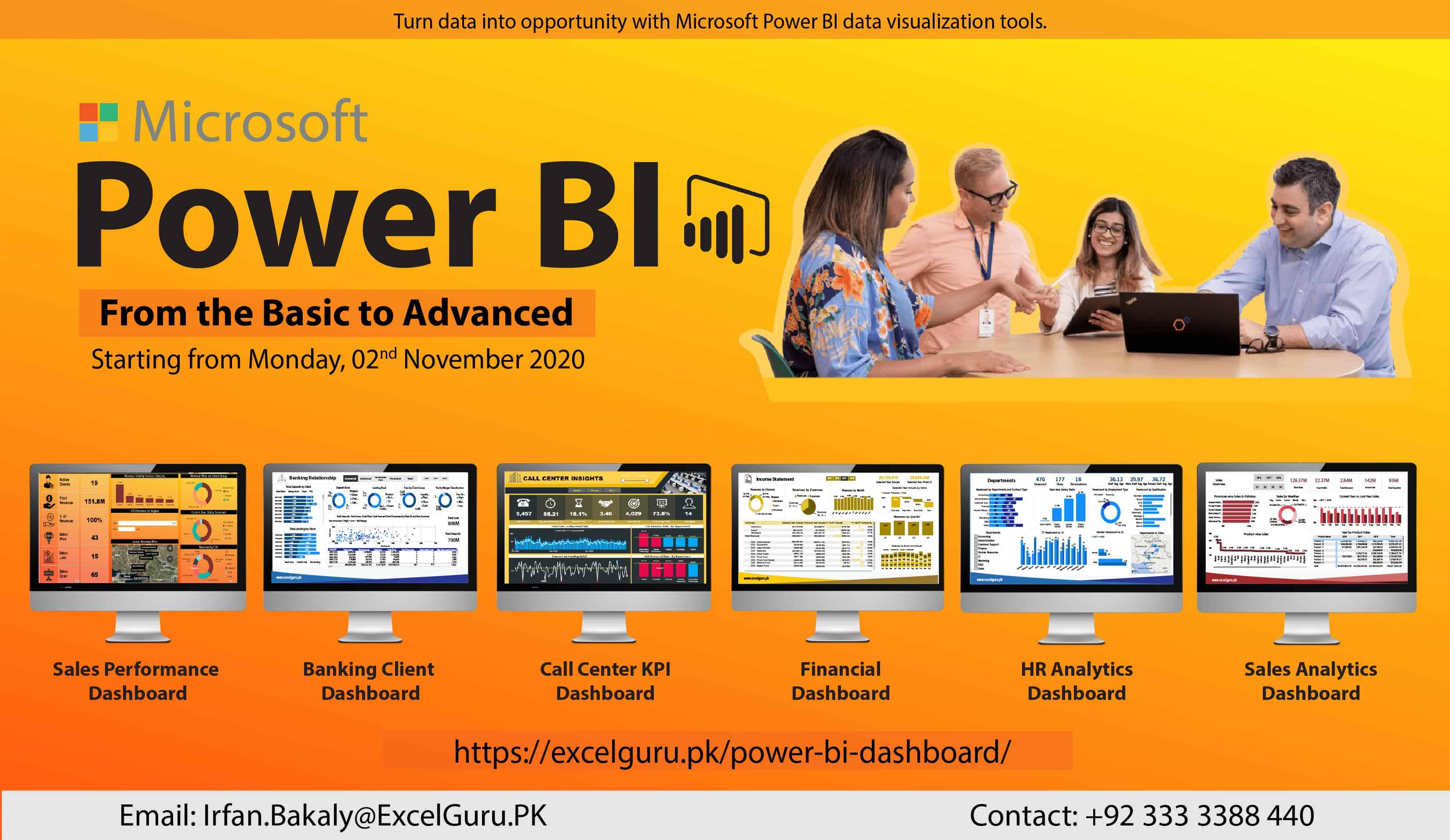 Power BI Training - Nov 2020