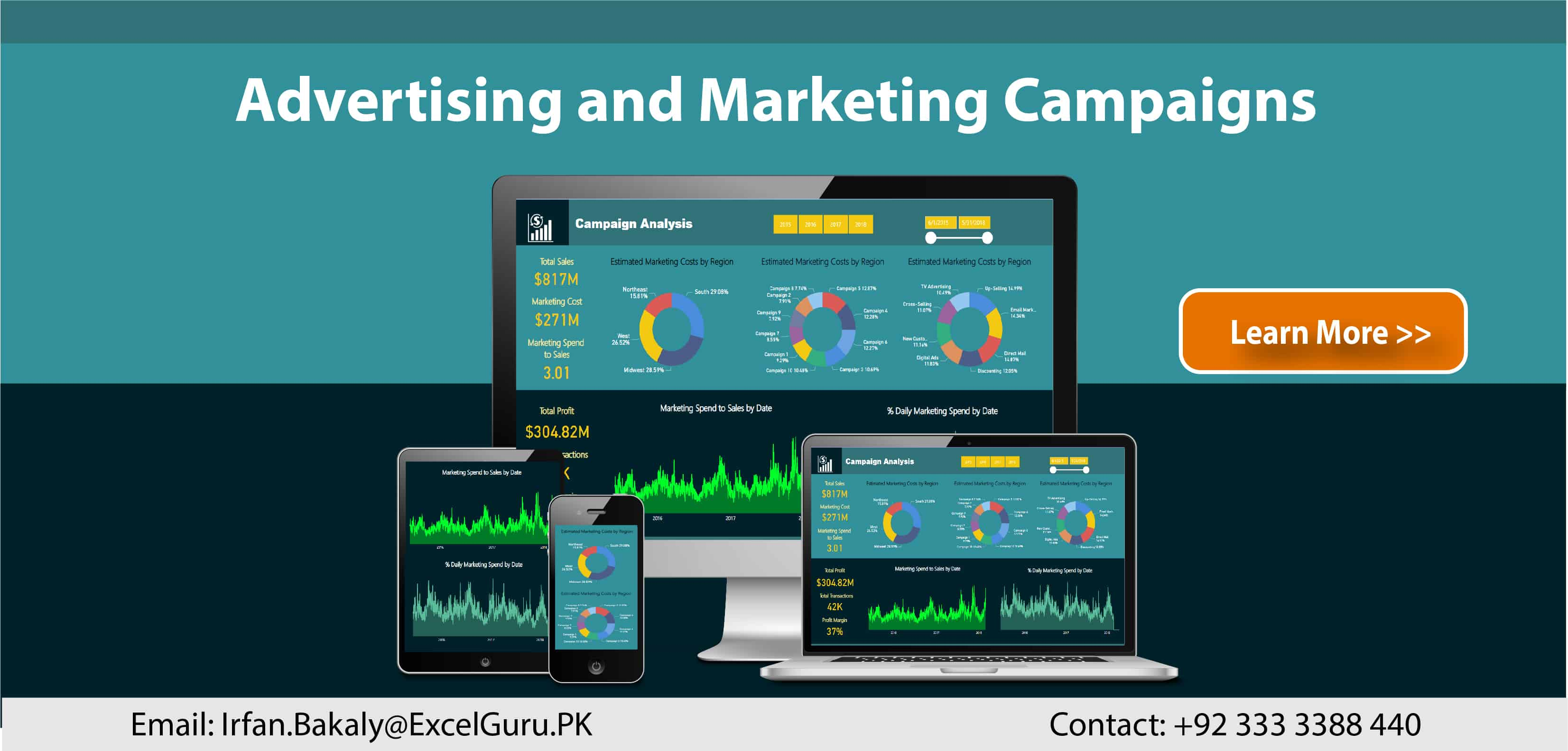 Advertising and Marketing Campaigns using Power BI